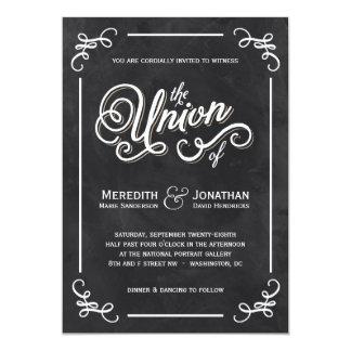 Tafel-Hochzeits-Einladung 12,7 X 17,8 Cm Einladungskarte