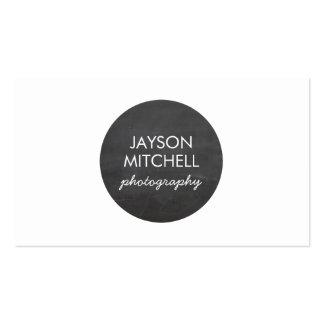 Tafel-Kreis-Logo für Fotografen, Handwerker Visitenkarte