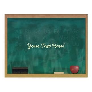 Tafel-Lehrer-Student Postkarten