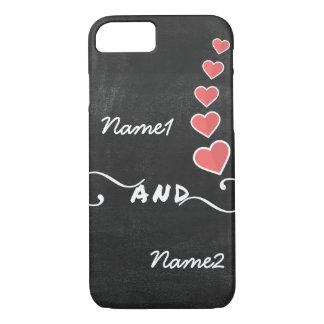 Tafel-Namen-Liebe iPhone Abdeckung iPhone 8/7 Hülle