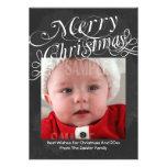 Tafel-Rolle-Schriftart-frohe Weihnacht-Schablone Einladungskarte