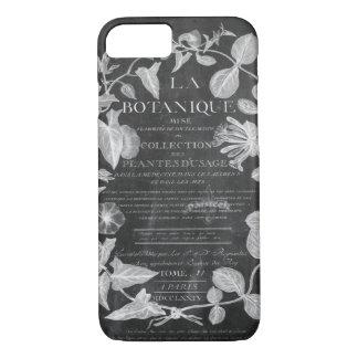 Tafel scripts französisches botanisches iPhone 8/7 hülle