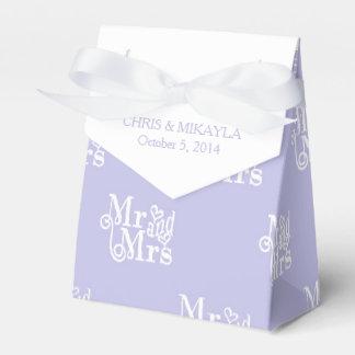 Tafel-Typografie-Gastgeschenk Hochzeits-Kasten Geschenkkarton