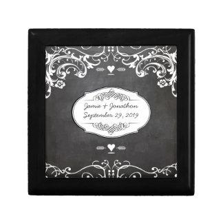 Tafel-Typografie-Hochzeiten Erinnerungskiste