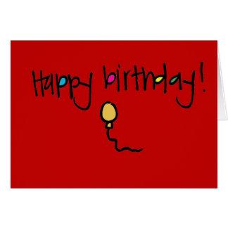 Tafel Wallies alles Gute zum Geburtstag Karte