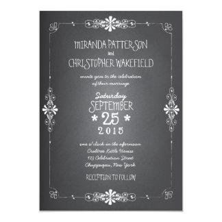 Tafel-Weckglas-Hochzeits-Einladung 12,7 X 17,8 Cm Einladungskarte