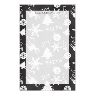 Tafel-Weihnachtsspaß-Muster-Feiertag Individuelles Druckpapier