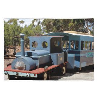 Taffy, Zug-Motorlokomotive Stofftischset