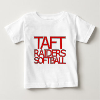 Taft-Räuber-Softball - San Antonio Baby T-shirt