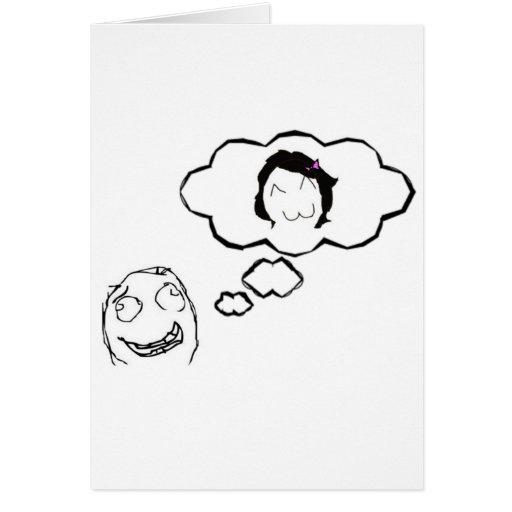 Tag der Bräutigame Stil Memes Grußkarten