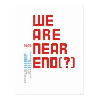 Tag der Erde 2009 am 22. April sind wir nahes Ende Postkarten