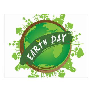 Tag der Erde - 22. April Postkarten