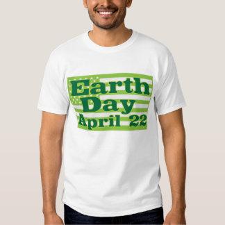Tag der Erde am 22. April grüne USA-Flaggen Tshirts