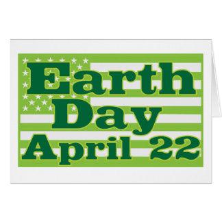 Tag der Erde am 22. April Grußkarte
