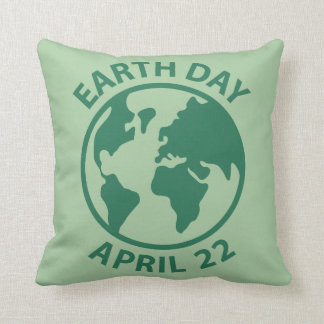 Tag der Erde, am 22. April Zierkissen