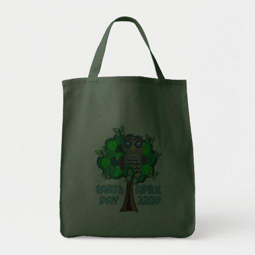 Tag der Erde am 22. April Einkaufstaschen