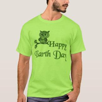 Tag der Erde-Eule T-Shirt