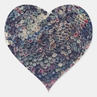 Tag der Erde Herz-Aufkleber