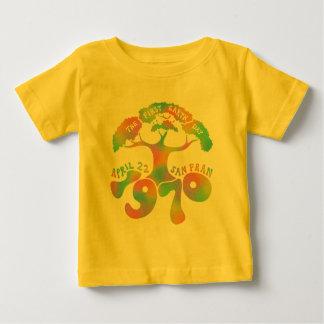 Tag der Erde-Jahrestag Baby T-shirt