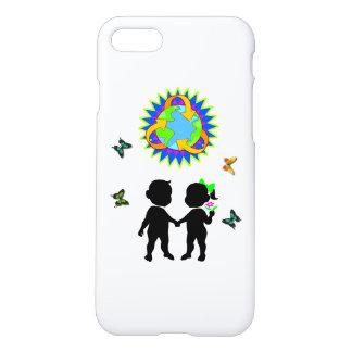 Tag der Erde-Kinder iPhone 7 Hülle