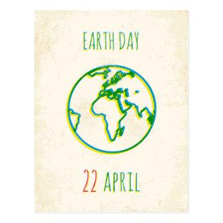 Tag der Erde Postkarte