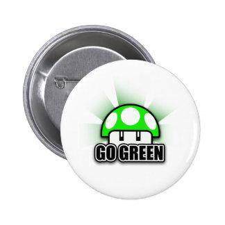 Tag der Erde Runder Button 5,7 Cm
