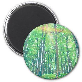 Tag der Erde Runder Magnet 5,7 Cm