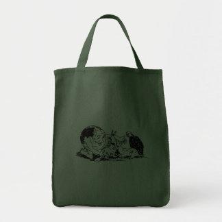 TAG DER ERDE - schützen Sie wild lebende Tiere Tasche
