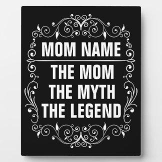 Tag der Mamma-der glückliche Mutter Fotoplatte