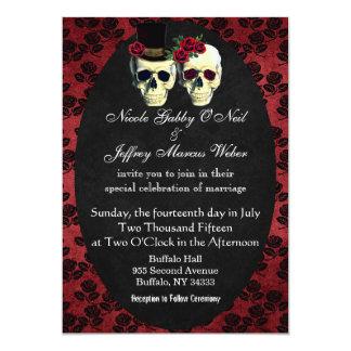 Tag der toten Braut-und Karte