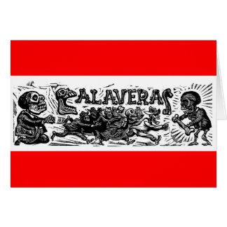 "Tag der Toten. ""Calaveras"" C. Mexiko 1951 Karte"