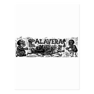 "Tag der Toten. ""Calaveras"" C. Mexiko 1951 Postkarte"