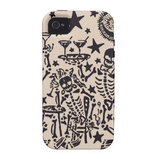 Tag der toten Fiestas Partei-Durchmessers Muertos iPhone 4 Case