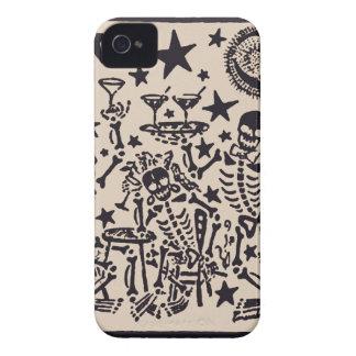 Tag der toten Fiestas Partei-Durchmessers Muertos iPhone 4 Case-Mate Hülle