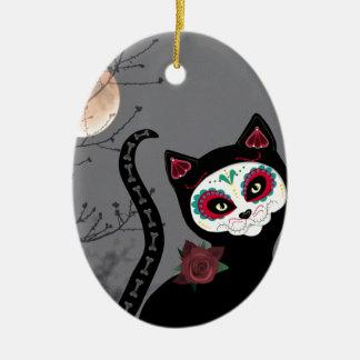 Tag der toten Katze Keramik Ornament