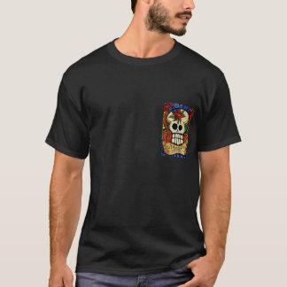 Tag der toten Schädel/lodernden des Herz-Shirts T-Shirt