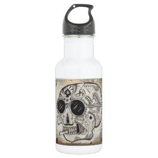 Tag der toten (Schädel-) Wasser-Flasche Edelstahlflasche