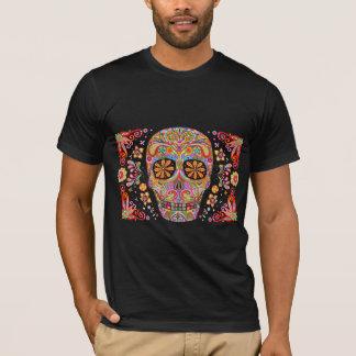 Tag der toten T - Shirt-Zuckerschädel-Kunst T-Shirt