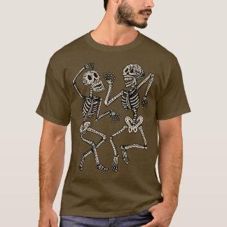 Tag der toten Tanzen-Skelette T-Shirt