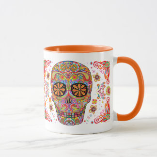 Tag der toten Tasse/Dia de Los Muertos Mug Tasse