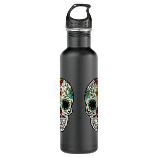 Tag der toten Zuckerschädel-Wasser-Flasche Edelstahlflasche