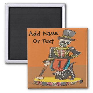 Tag der Toter, addieren Text Quadratischer Magnet