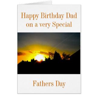 TAG DER VATER-BIRTHDAY/FATHERS KARTE