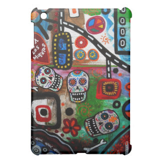 Tag des toten ABSTRAKTEN MUERTOS iPad Mini Cover