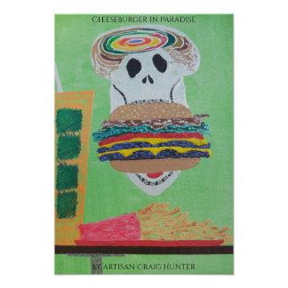 Tag des toten Cheeseburgers Kunst Fotos