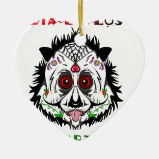 Tag des toten Pandas Keramik Herz-Ornament