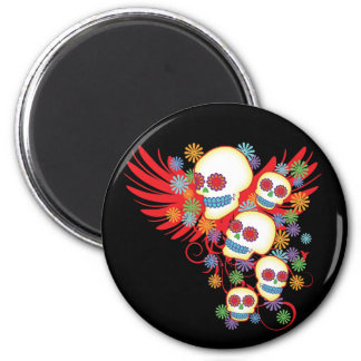 Tag des toten runden Magneten Runder Magnet 5,1 Cm