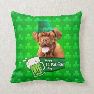 Tag Dogue De Bordeaux Mastiff St Patrick Kissen