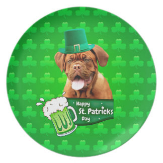 Tag Dogue De Bordeaux Mastiff St Patrick Melaminteller