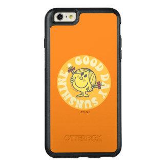Tag-kleines Fräulein Sunshine OtterBox iPhone 6/6s Plus Hülle